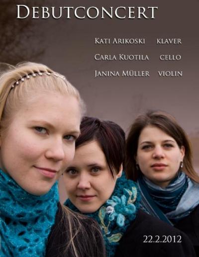 Trio Gimelia Debut Concert
